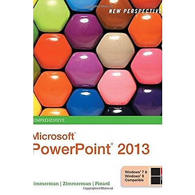 New Perspectives on Microsoft PowerPoint 2013, Comprehensive, New Book, (9781285161822)