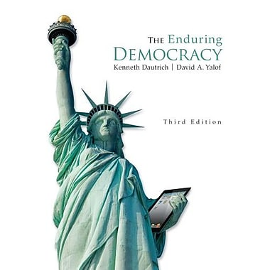 The Enduring Democracy (Book Only), Used Book, (9781285194073)
