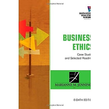 Business Ethics: Case Studies and Selected Readings, New Book, (9781285428710)