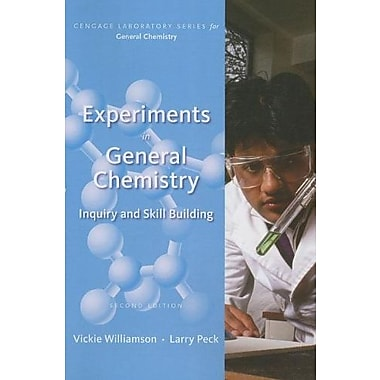 Experiments in General Chemistry: Inquiry and Skill Building, Used Book, (9781285433172)