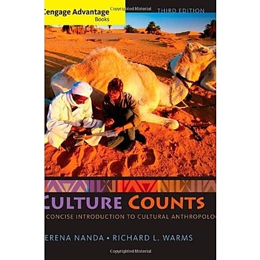 Cengage Advantage Books: Culture Counts: A Concise Introduction to Cultural Anthropology, New Book, (9781285738512)