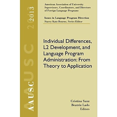 AAUSC 2013 Volume - Issues in Language Program Direction, New Book, (9781285760582)