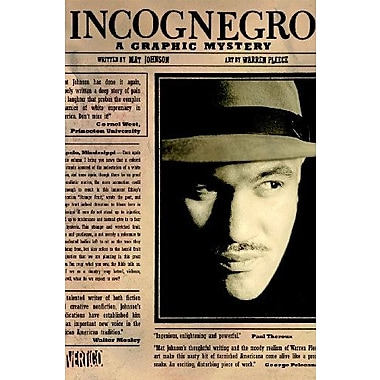 Incognegro: A Graphic Mystery, New Book, (9781401210984)