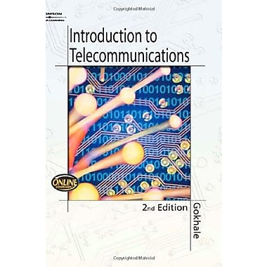 Introduction to Telecommunications, Used Book, (9781401856489)