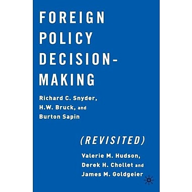 Foreign Policy Decision Making (Revisited), New Book, (9781403960764)