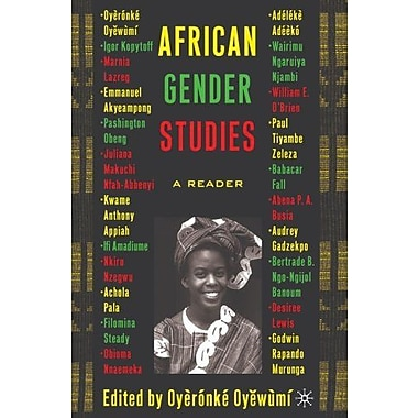 African Gender Studies: A Reader, New Book, (9781403962836)