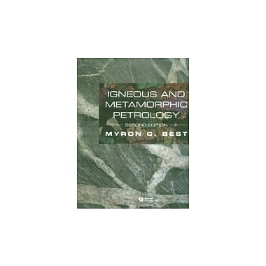 Igneous and Metamorphic Petrology, New Book, (9781405105880)