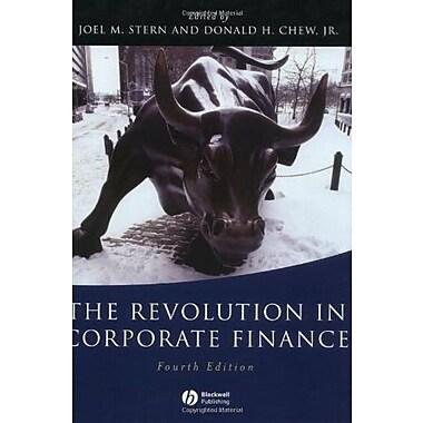 The Revolution in Corporate Finance, New Book, (9781405107815)