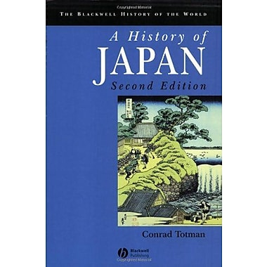 A History of Japan, New Book, (9781405123594)