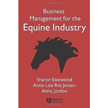 Business Management for the Equine Industry, New Book, (9781405126069)