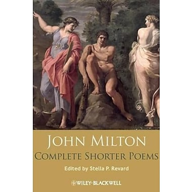 John Milton Complete Shorter Poems, New Book, (9781405129275)