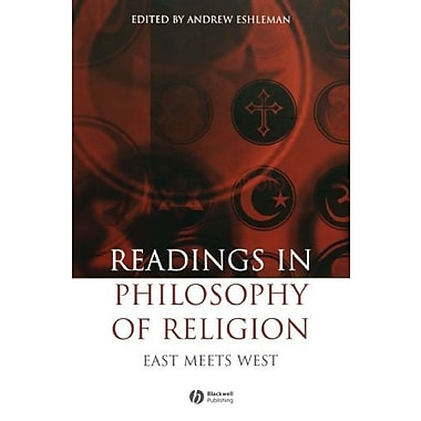 Readings in the Philosophy of Religion: East Meets West, Used Book, (9781405147170)