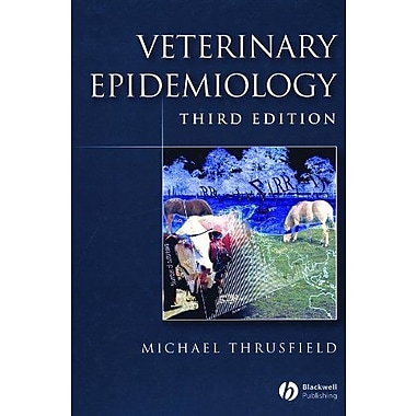 Veterinary Epidemiology, New Book, (9781405156271)
