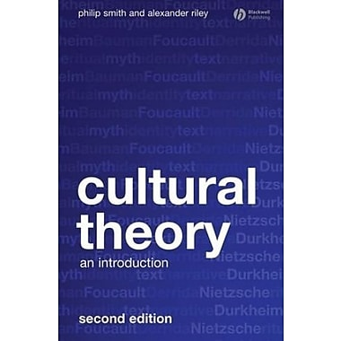 Cultural Theory: An Introduction, New Book, (9781405169073)