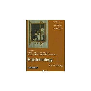 Epistemology: An Anthology, New Book, (9781405169660)