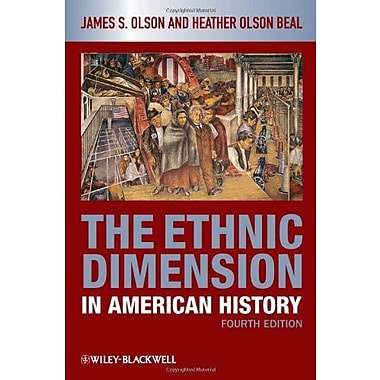 The Ethnic Dimension in American History, New Book, (9781405182515)