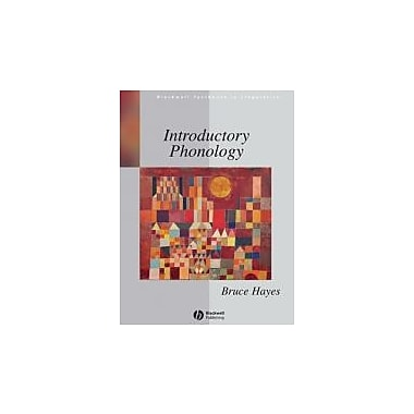 Introductory Phonology, New Book, (9781405184113)