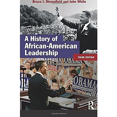 A History of African-American Leadership (Studies In Modern History), New Book, (9781405811569)