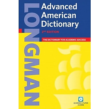 Longman Advanced American Dictionary, 2nd Edition (Book & CD-ROM), New Book, (9781405829540)