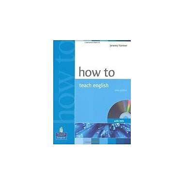 How to Teach English (with DVD), New Book, (9781405853095)