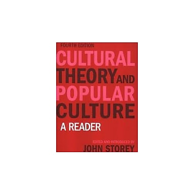 Cultural Theory and Popular Culture: A Reader, New Book, (9781405874212)