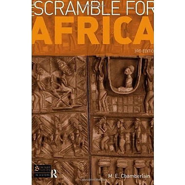 The Scramble for Africa (Seminar Studies), Used Book, (9781408220146)