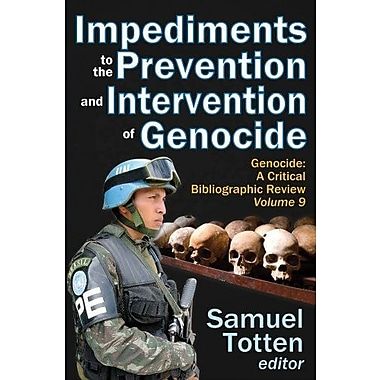 Impediments to the Prevention and Intervention of Genocide, New Book, (9781412849432)