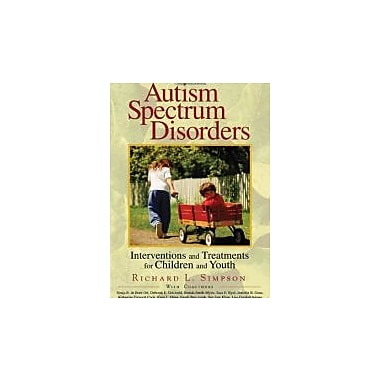 Autism Spectrum Disorders: Interventions and Treatments for Children and Youth, New Book, (9781412906036)
