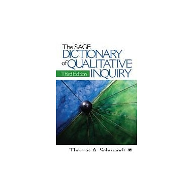 The SAGE Dictionary of Qualitative Inquiry, New Book, (9781412909273)