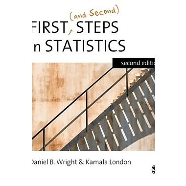 First (and Second) Steps in Statistics, New Book, (9781412911429)