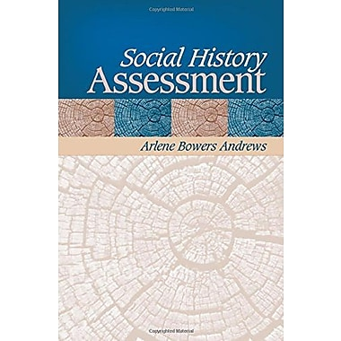 Social History Assessment, New Book, (9781412914130)