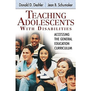 Teaching Adolescents with Disabilities:: Accessing the General Education Curriculum, New Book, (9781412914895)