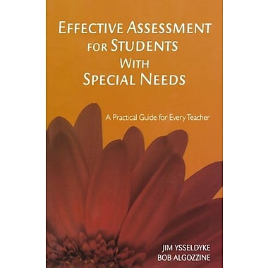 Effective Assessment for Students with Special Needs: A Practical Guide for Every Teacher, New Book, (9781412938969)
