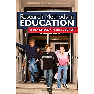 Research Methods in Education (Publisher: SAGE Publications, Inc)