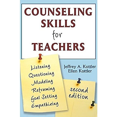 Counseling Skills for Teachers, Used Book, (9781412949224)