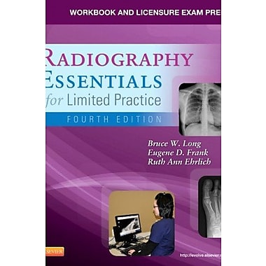Workbook and Licensure Exam Prep for Radiography Essentials for Limited Practice, 4e, New Book, (9781455740789)