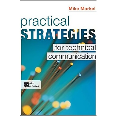 Practical Strategies for Technical Communication, New Book, (9781457609404)