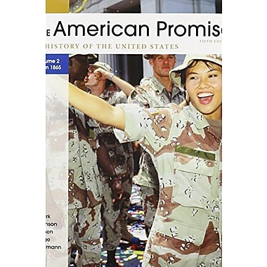 American Promise 5e V2 & Reading the American Past 5e V2, New Book, (9781457615740)
