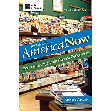 America Now: Short Readings from Recent Periodicals, New Book, (9781457615931)