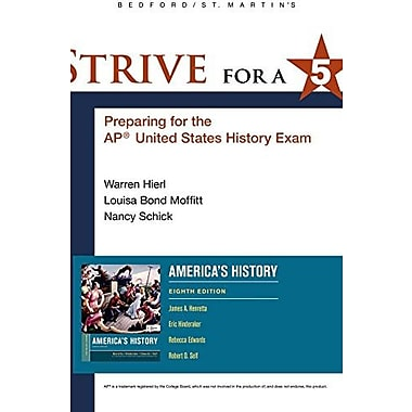 Strive for a 5 for America's History, New Book, (9781457629020)