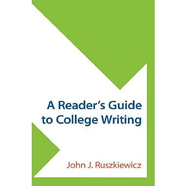 A Reader's Guide to College Writing, New Book, (9781457642586)