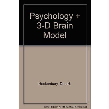 Psychology & 3-D Brain Model, New Book, (9781464122668)