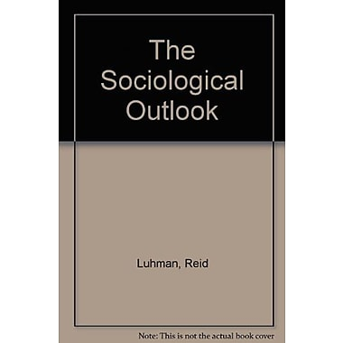 The Sociological Outlook, New Book, (9781465213167)