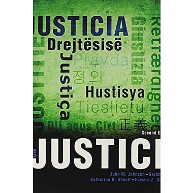 Theories on Justice, New Book, (9781465213365)