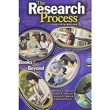 The Research Process: Books and Beyond, New Book, (9781465213693)