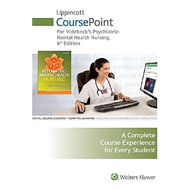 Lippincott CoursePoint for Psychiatric-Mental Health Nursing, New Book, (9781469873329)
