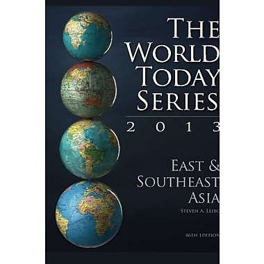 East and Southeast Asia 2013 (World Today (Stryker)), New Book, (9781475804751)