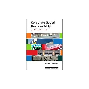 Corporate Social Responsibility: An Ethical Approach, Used Book, (9781551112947)