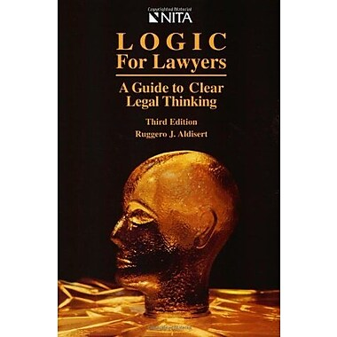 Logic for Lawyers : A Guide to Clear Legal Thinking, New Book, (9781556815386)