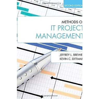 Methods of IT Project Management (Second Edition), New Book, (9781557536631)